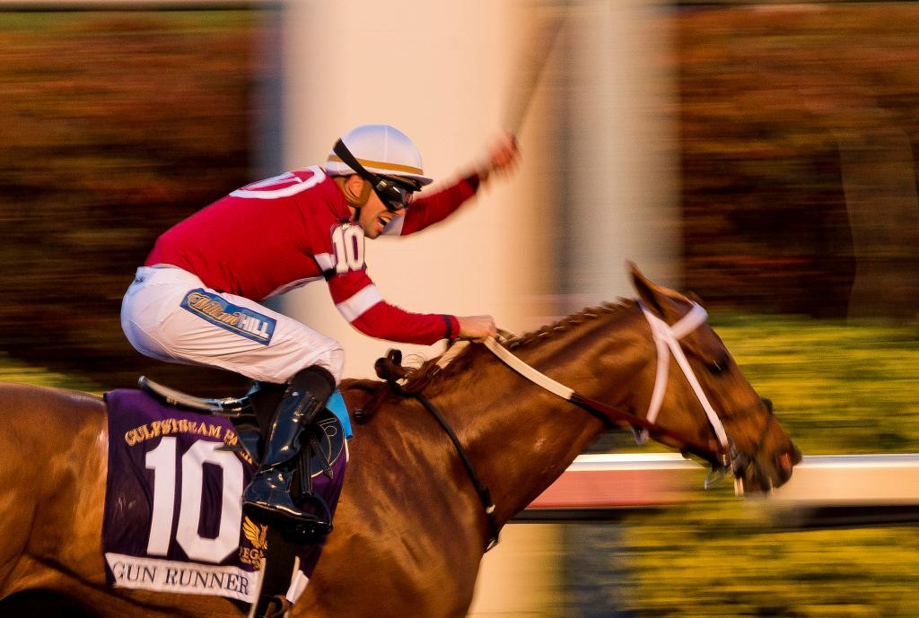 Fabulous Farewell Gun Runner Prevails In Pegasus In