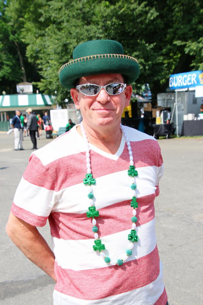 Wearing his lucky necklace. (Julie June Stewart photo)