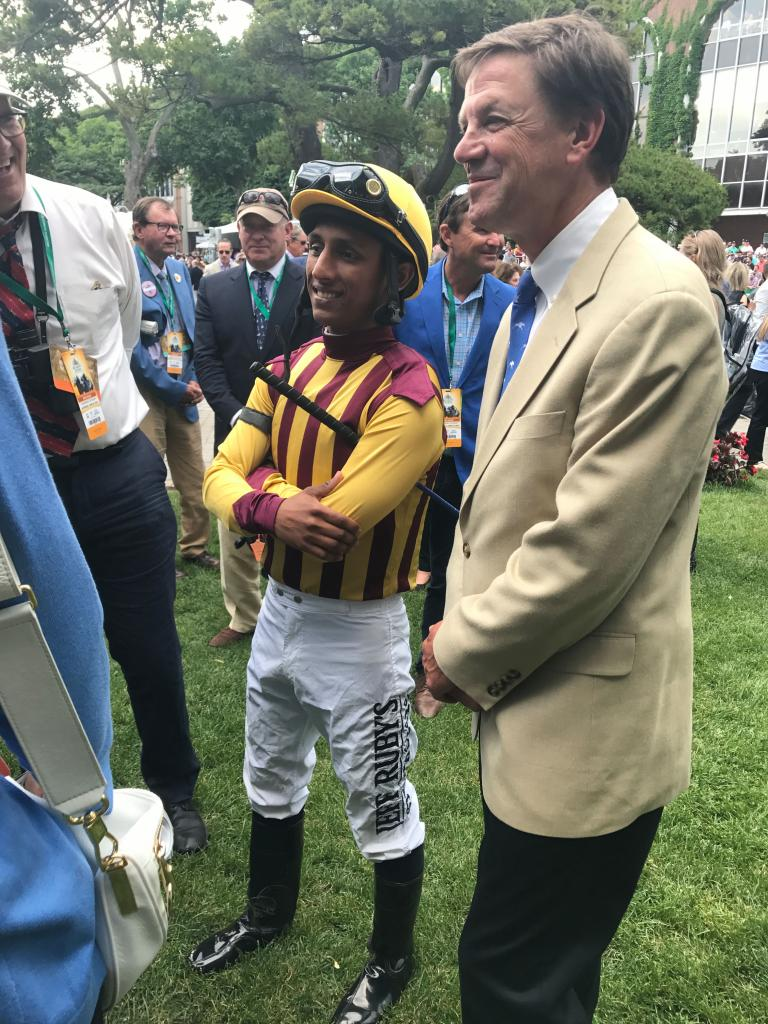 Jane Motion S Belmont Day Winning Races Creating New