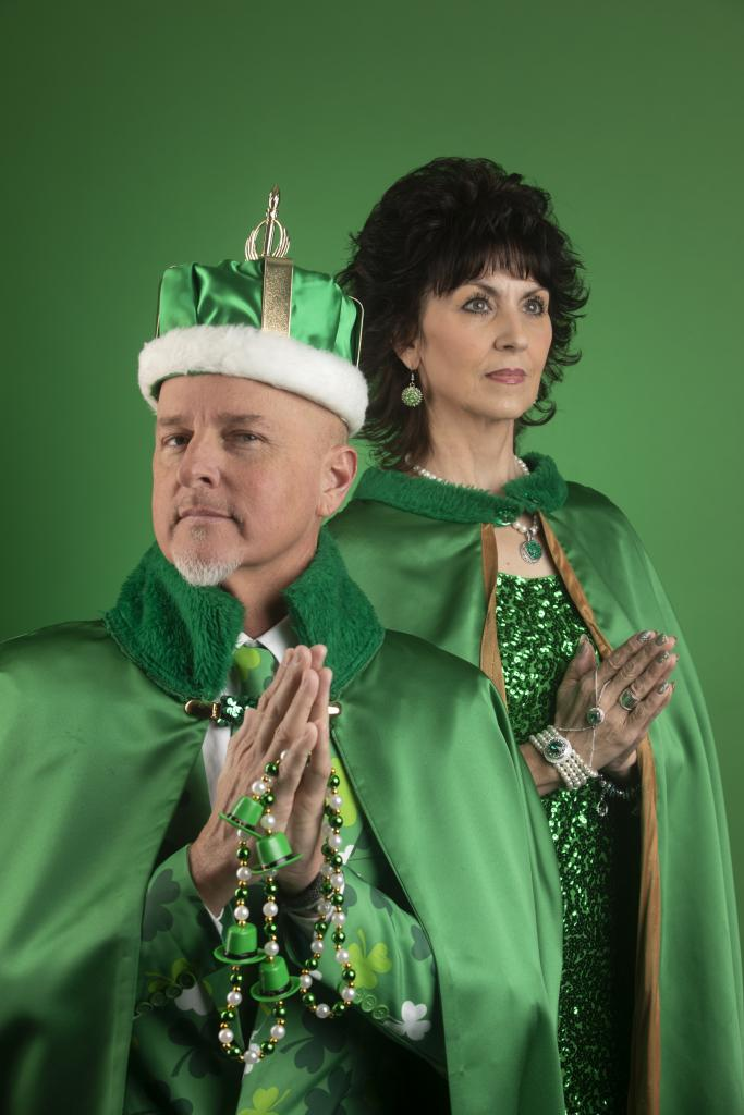 King and Queen of St. Patrick's Day, Scott McClard and Dona Pettey (Courtesy of Visit Hot Springs)
