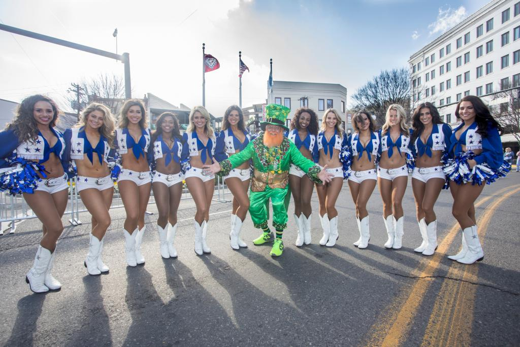 The Dallas Cowboys Cheerleaders will be on hand. (Courtesy of Visit Hot Springs)