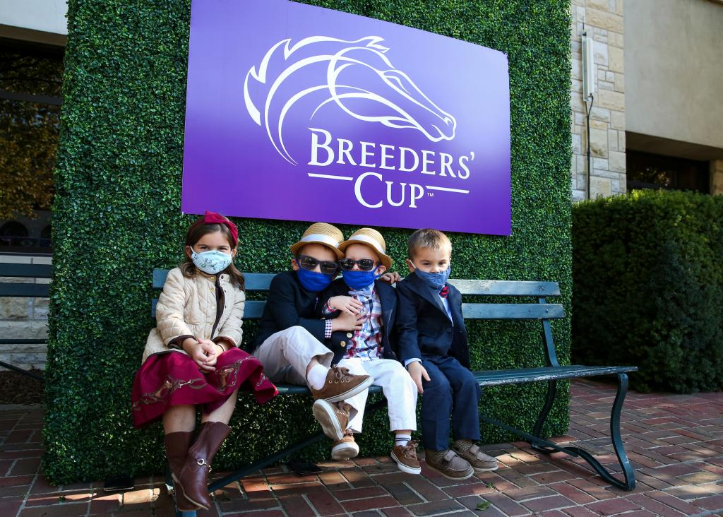 Scenes from Future Stars Friday at the 2020 Breeders' Cup World Championships at Keeneland.  (Eclipse Sportswire)