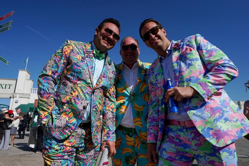 Scenes from Churchill Downs on Kentucky Derby day. (Eclipse Sportswire)