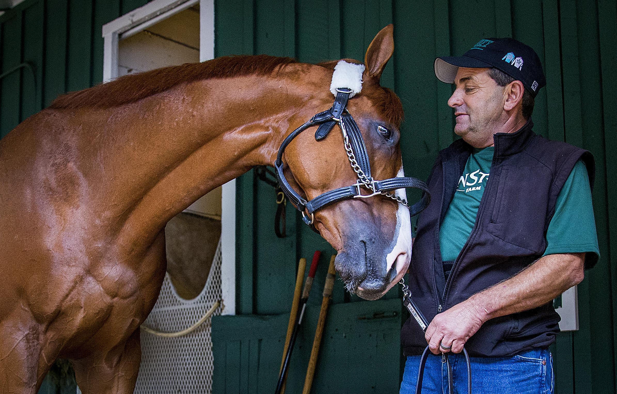 Justify Kentucky Derby Preakness Pimlico Jimmy Barnes Bob Baffert