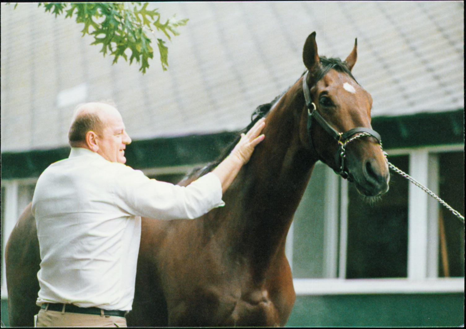 Alysheba with Van Berg