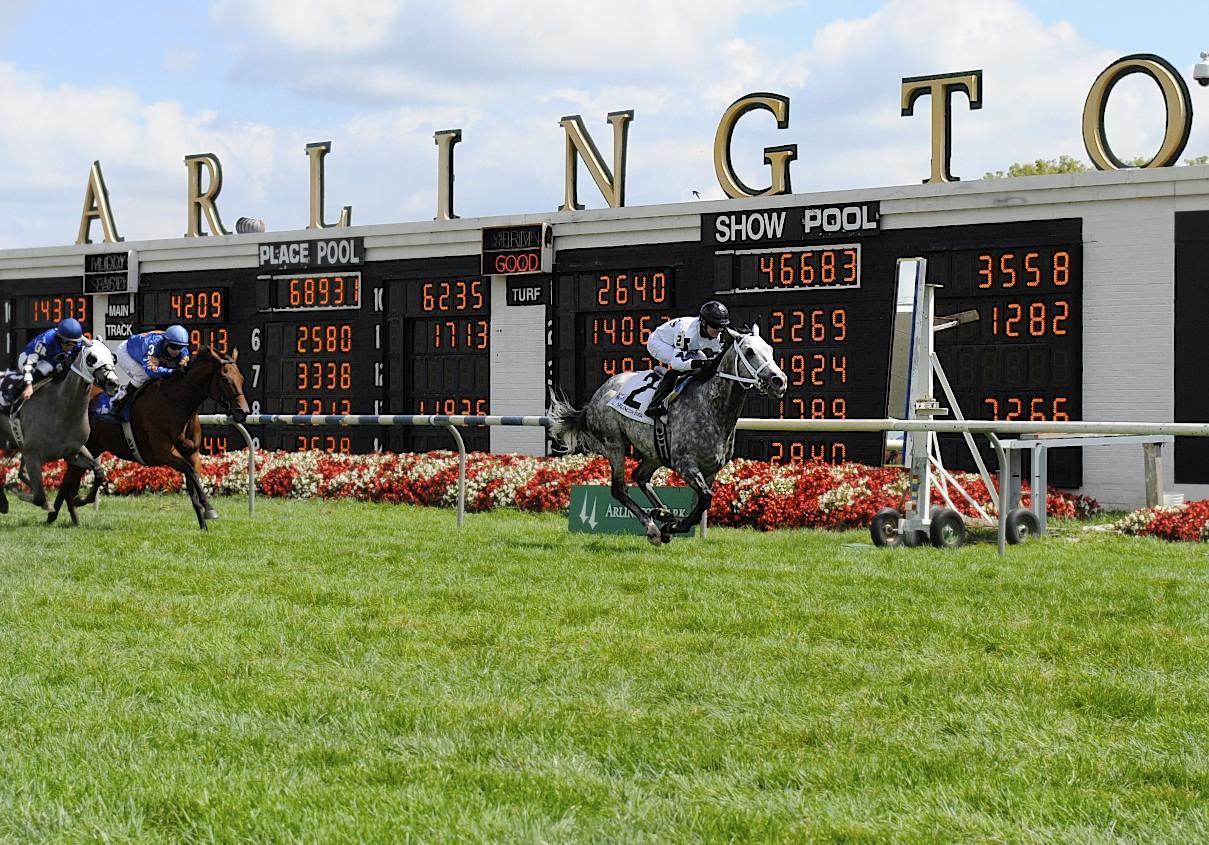 Racing at Arlington Park