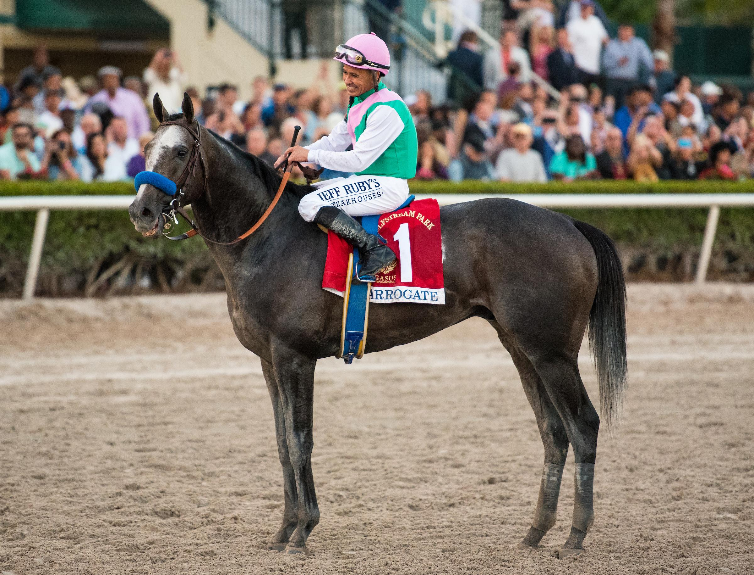 Two-time World's Best Racehorse Arrogate