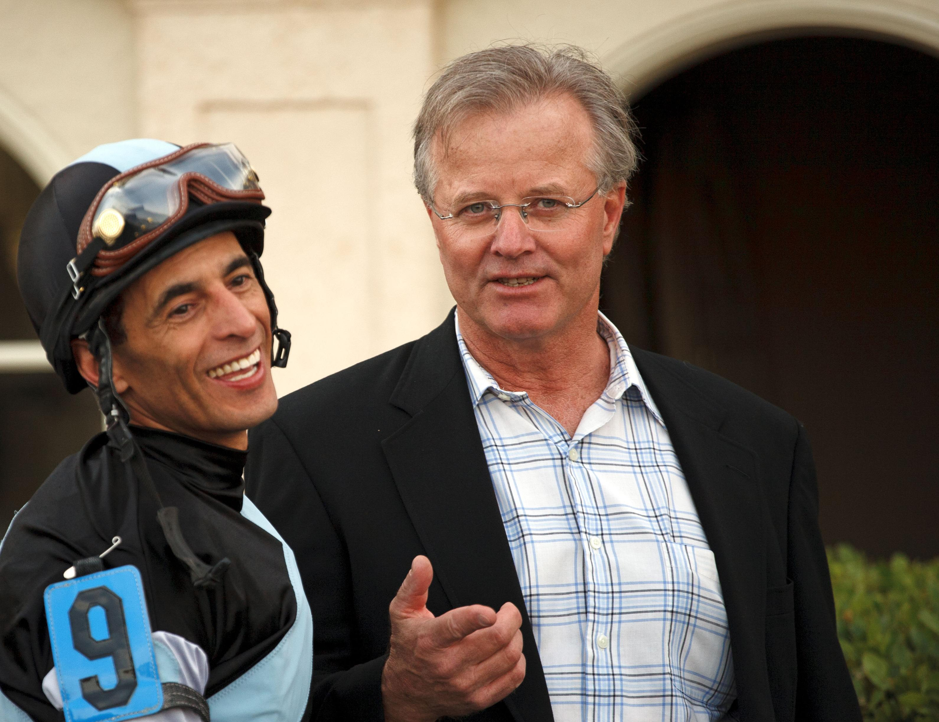 Bill Mott and John Velazquez
