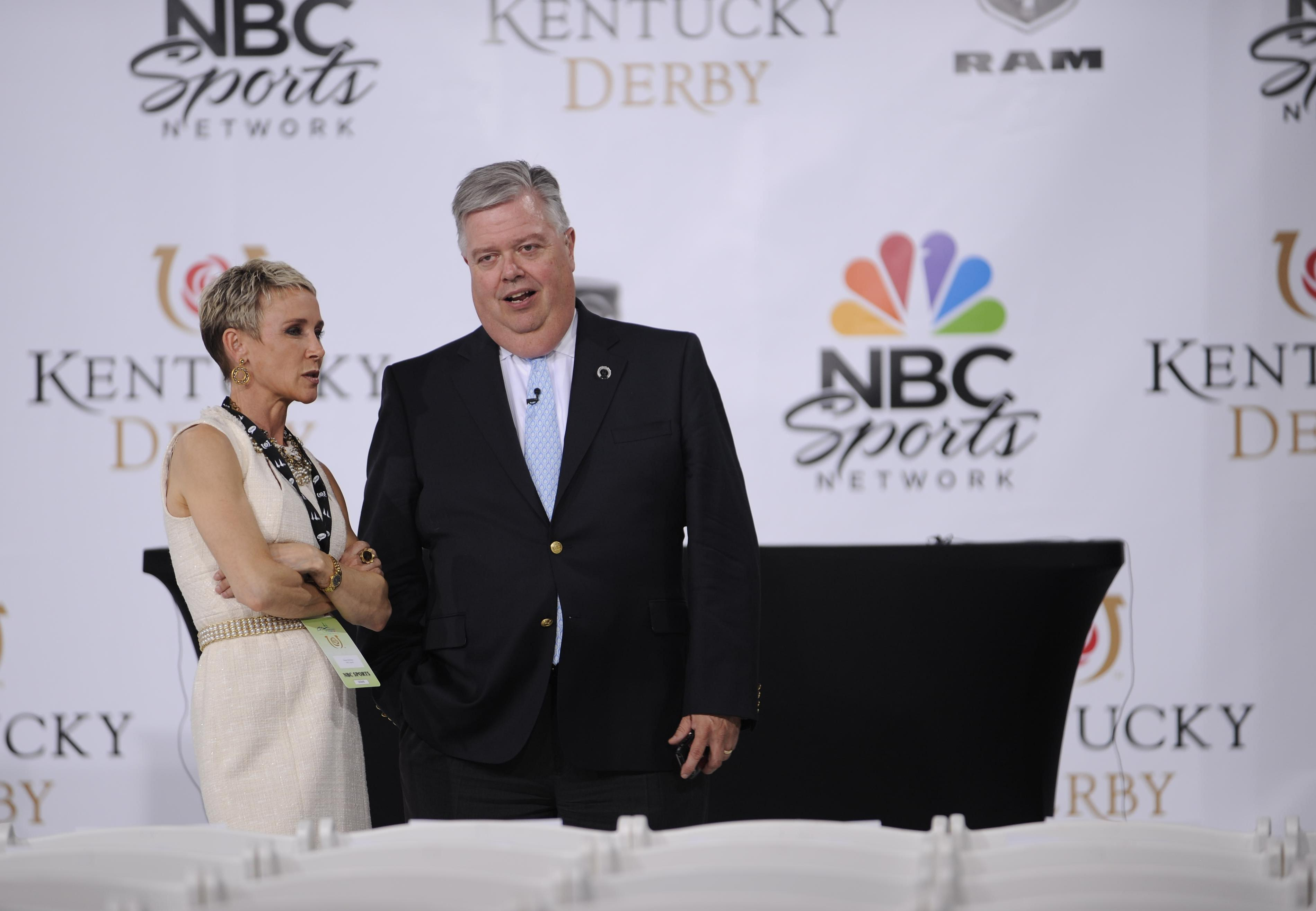 Barton Brothers and John Asher at Kentucky Derby fesitivities in 2012.