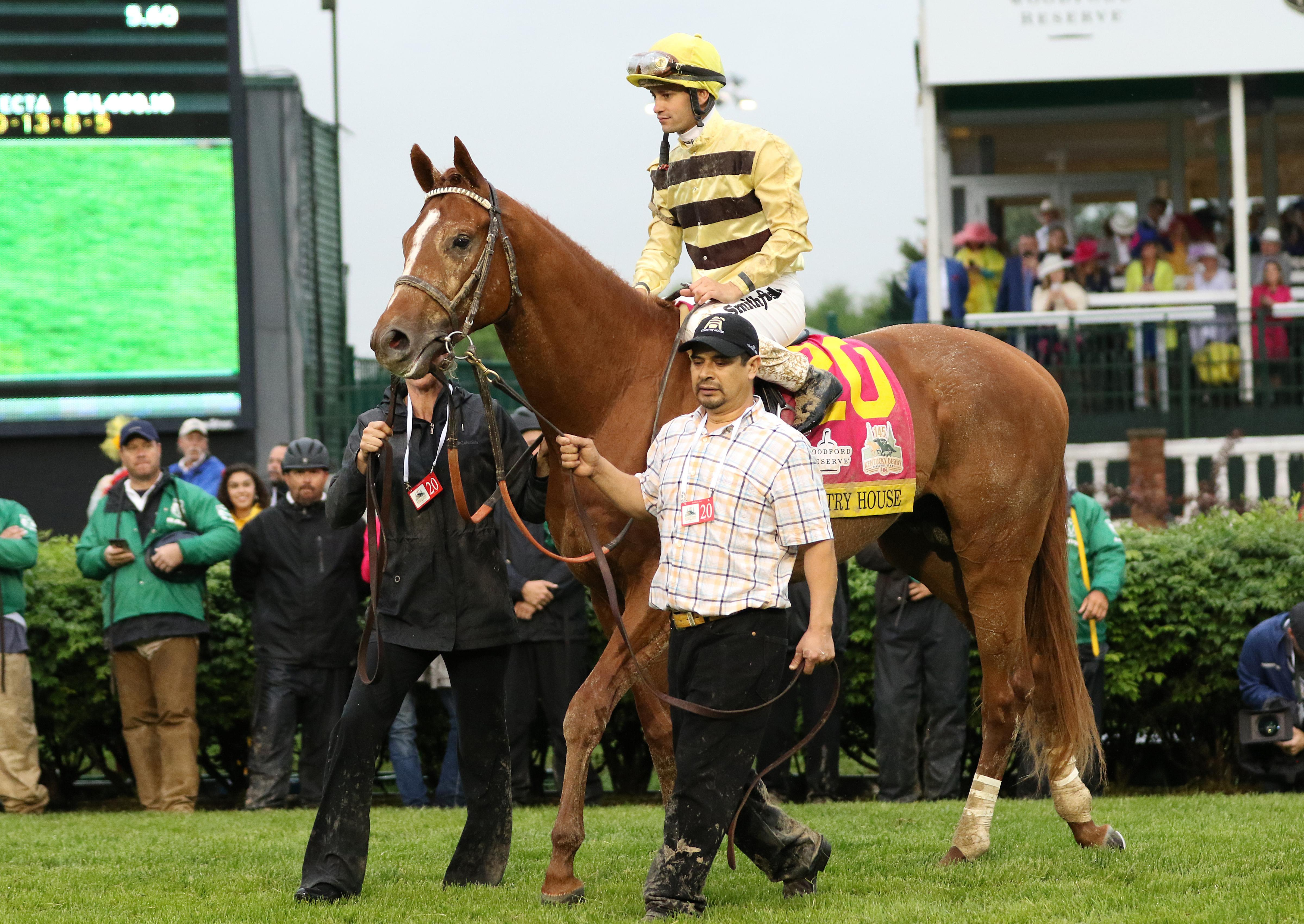 Country House in the Derby winner's circle