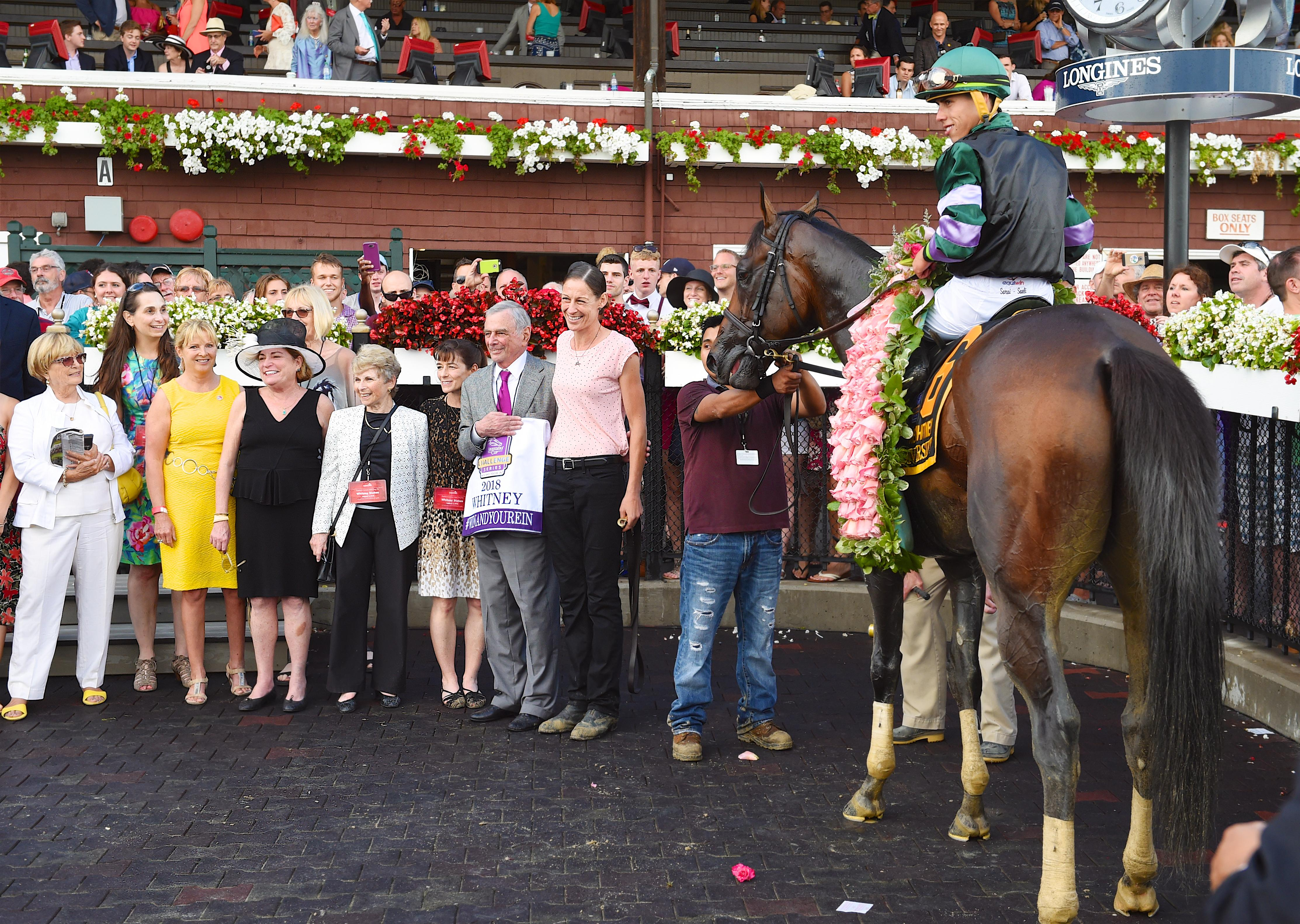 Diversify in the Saratoga winner's circle.