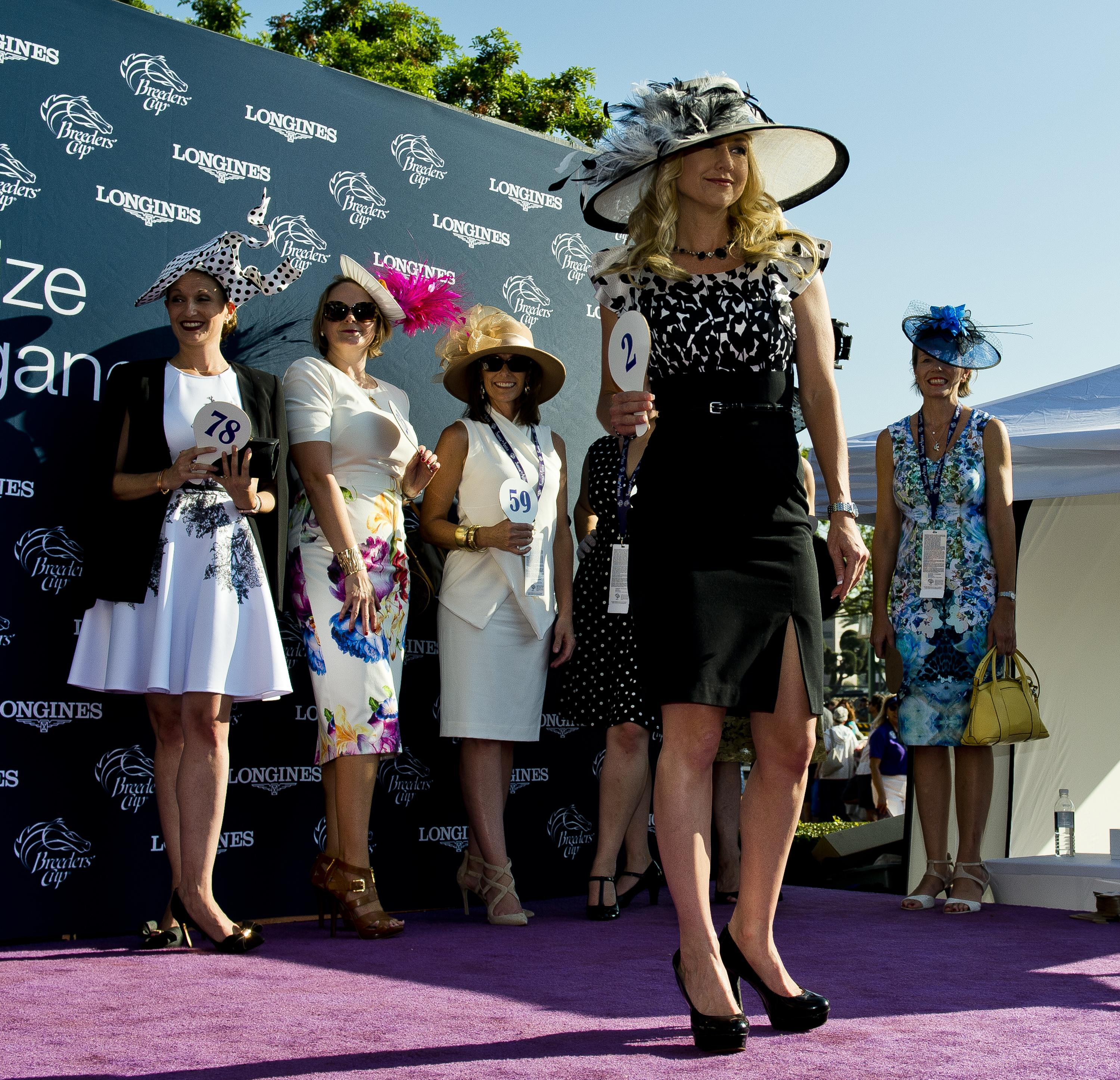 A fashion contest could be a fun way to spice up your Breeders' Cup party.