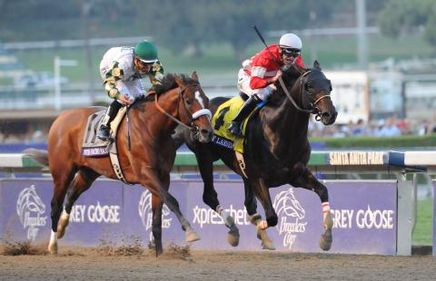 Fort Larned wins the 2012 Breeders' Cup Classic.