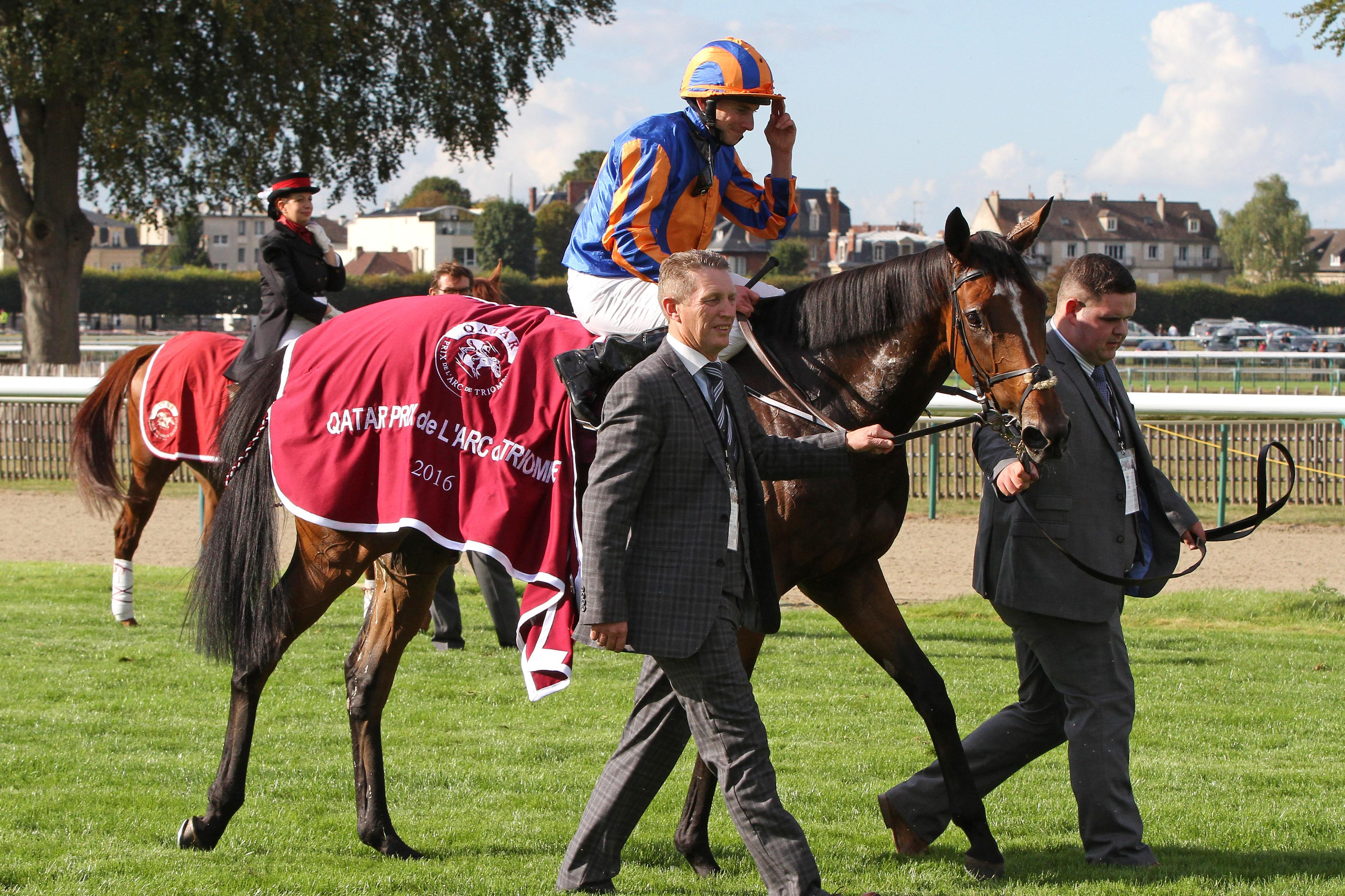 Coolmore's Breeders' Cup Turf winner Found after her Prix de l'Arc de Triomphe victory.