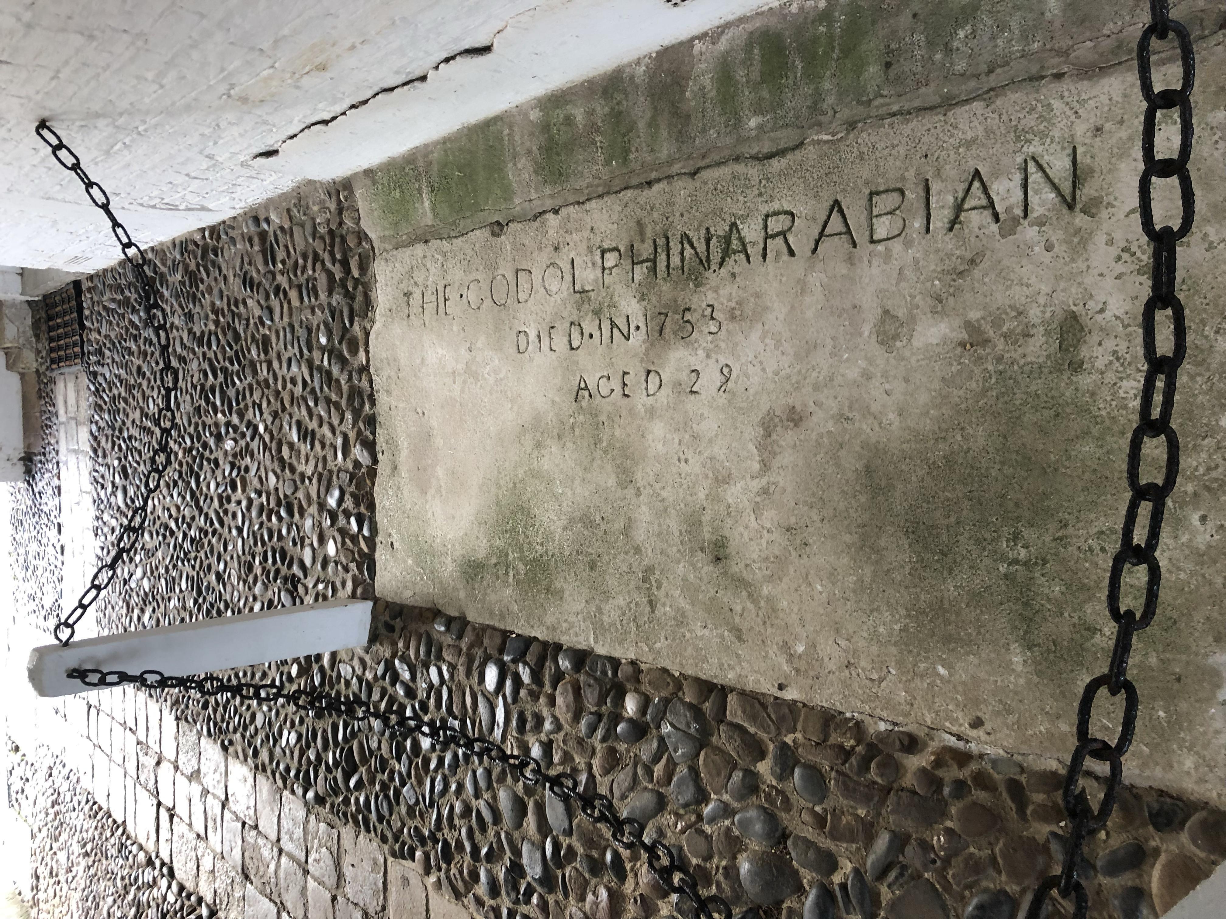 The grave of the Godolphin Arabian