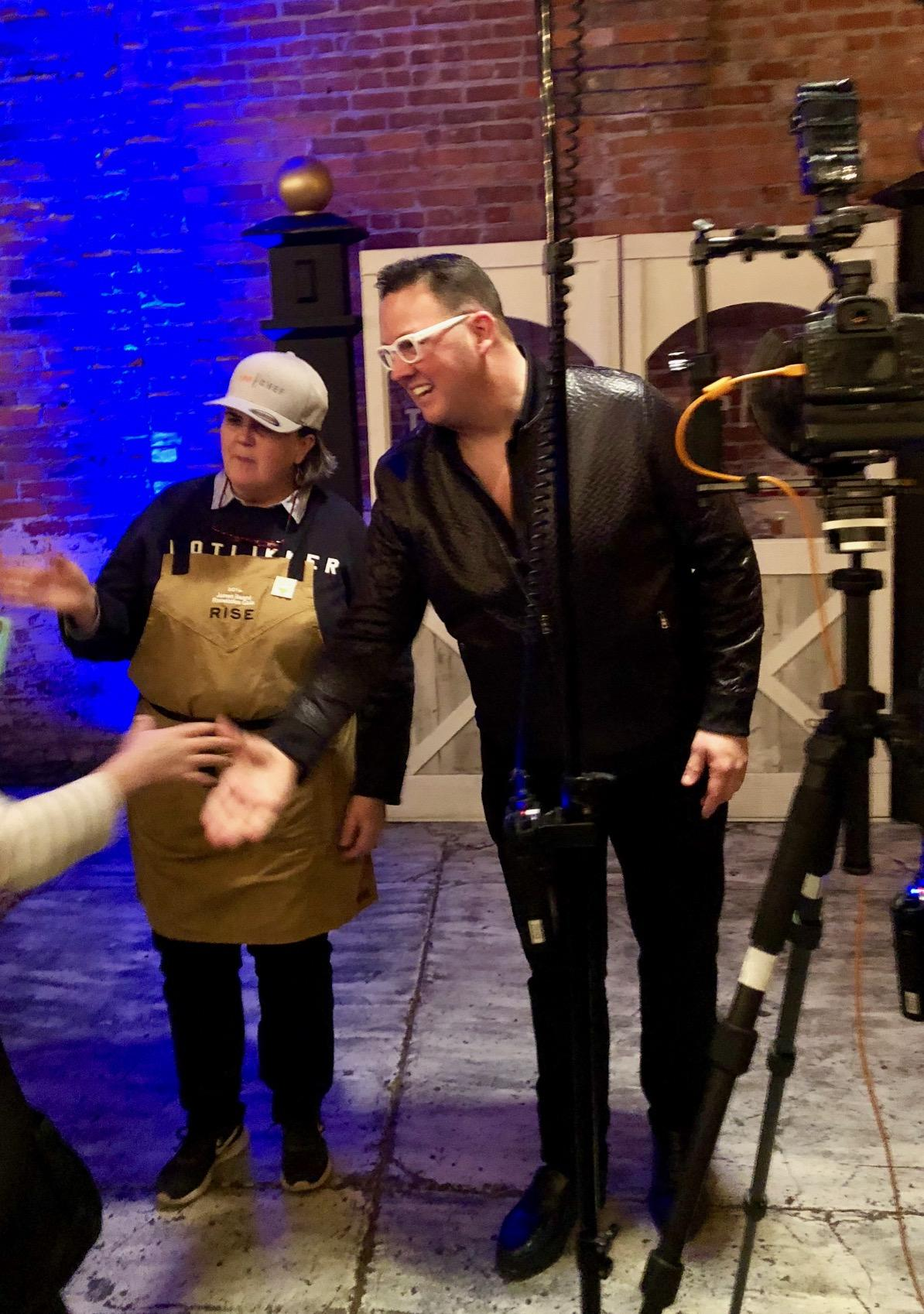 "Celebrity ""Top Chef"" judge Graham Elliot"