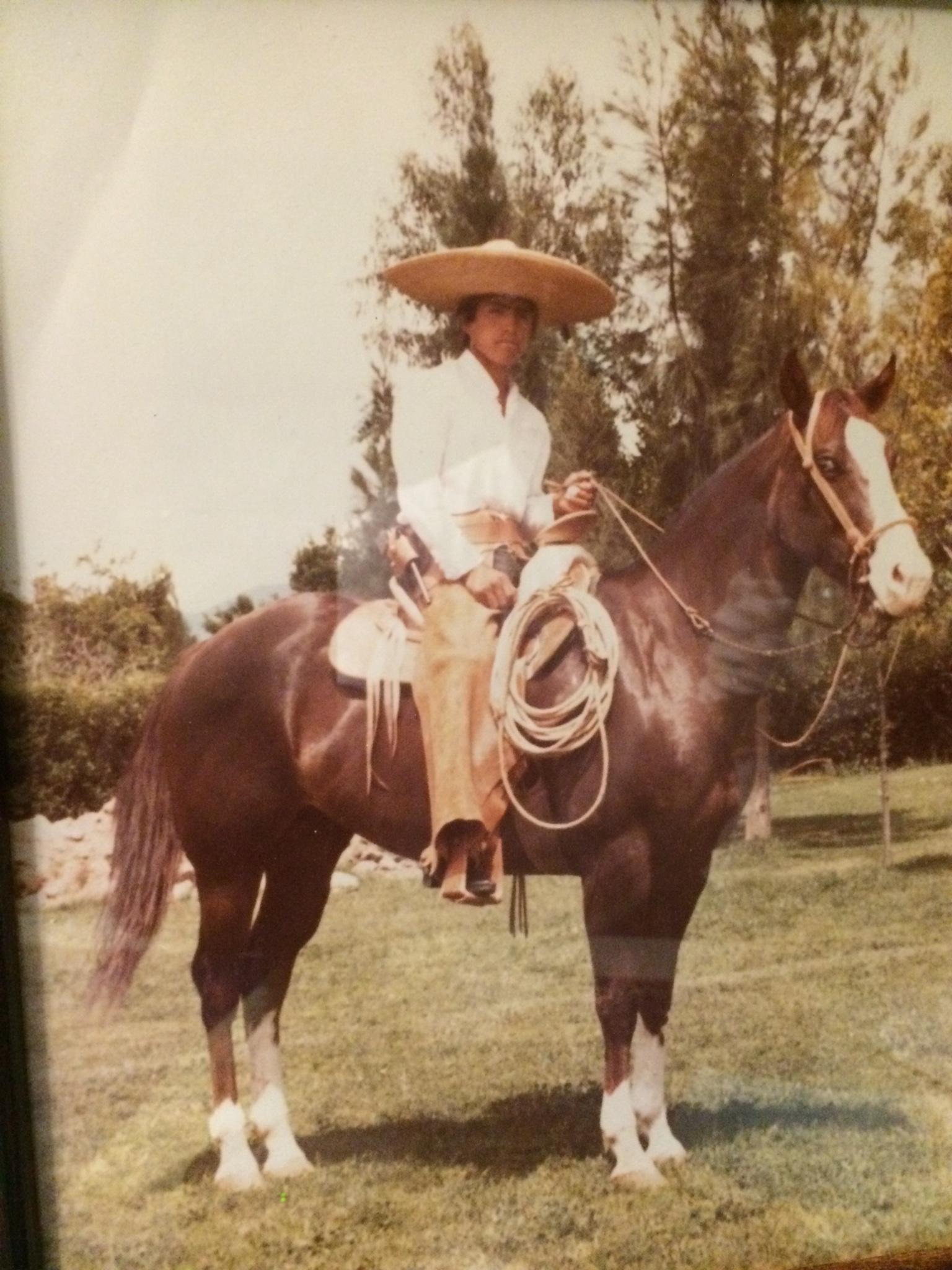 A young Gutierrez