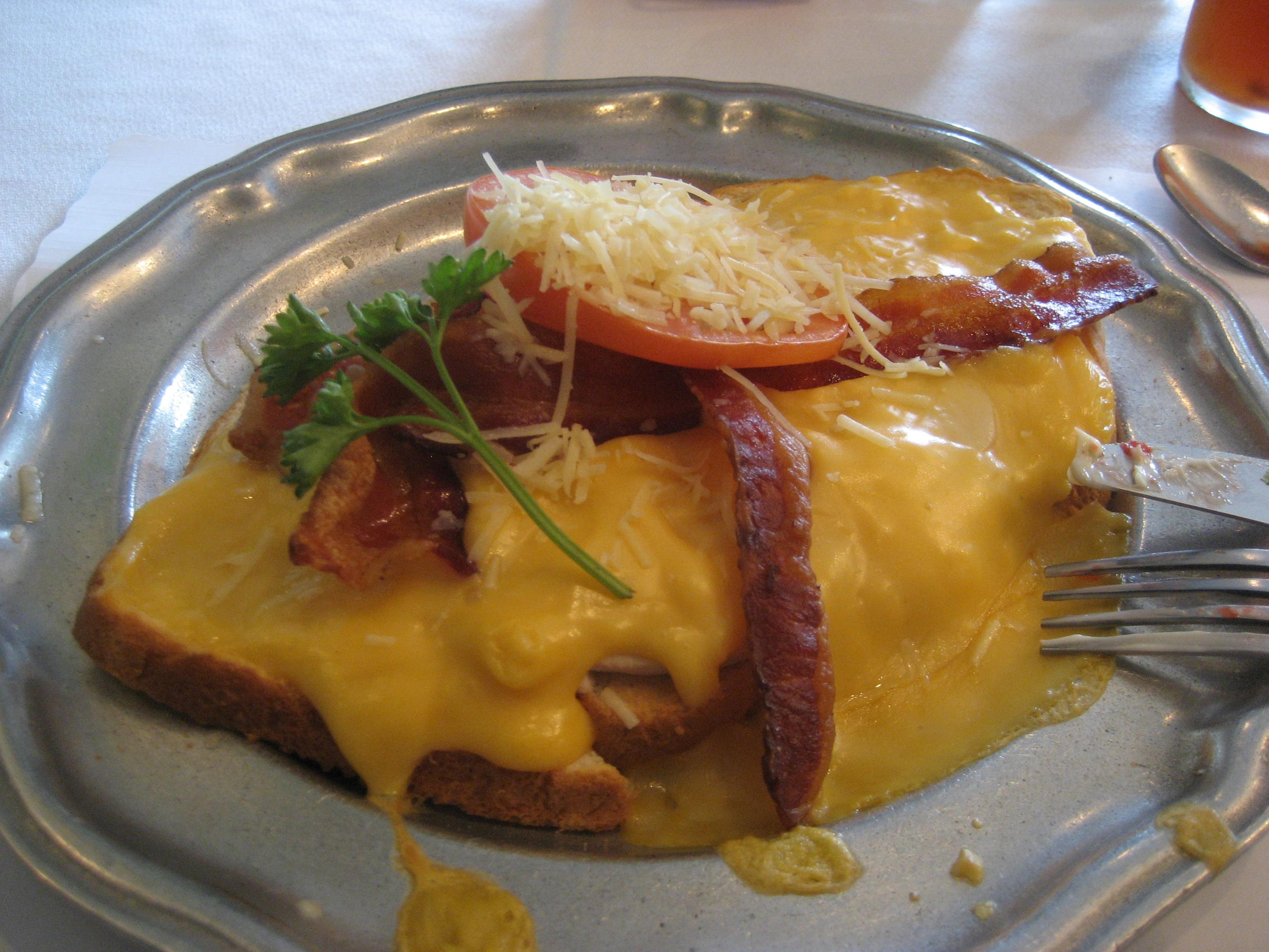 The hot brown is an iconic Kentucky dish.