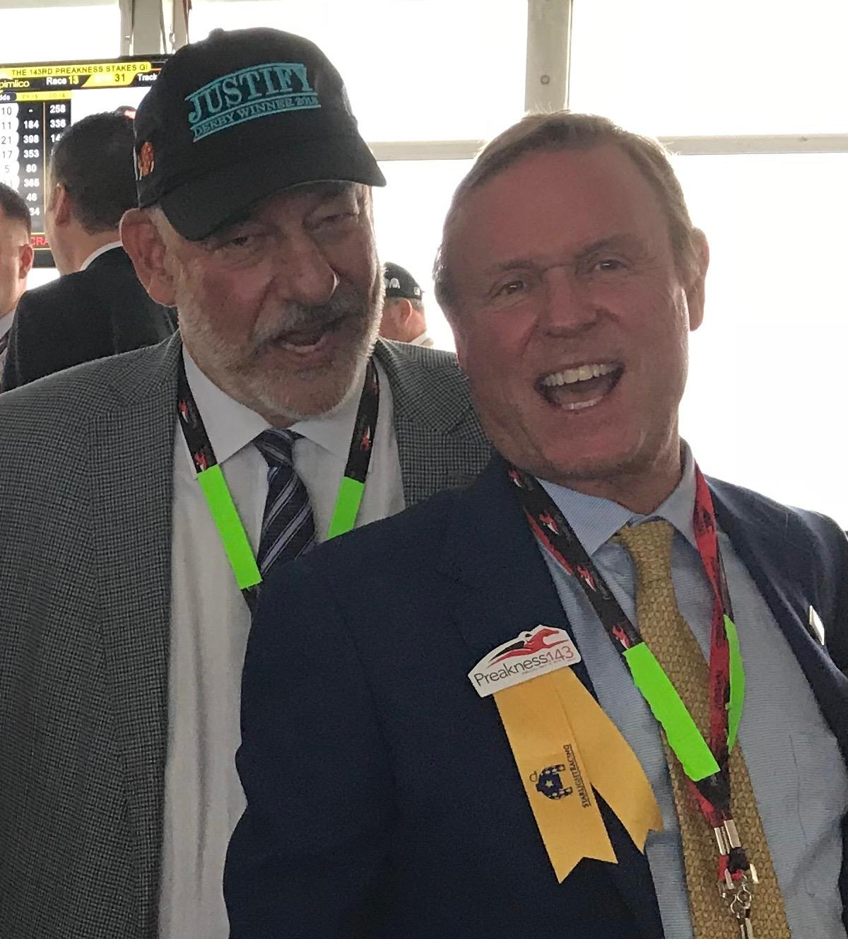 Mara and Starlight's Jack Wolf at the Preakness