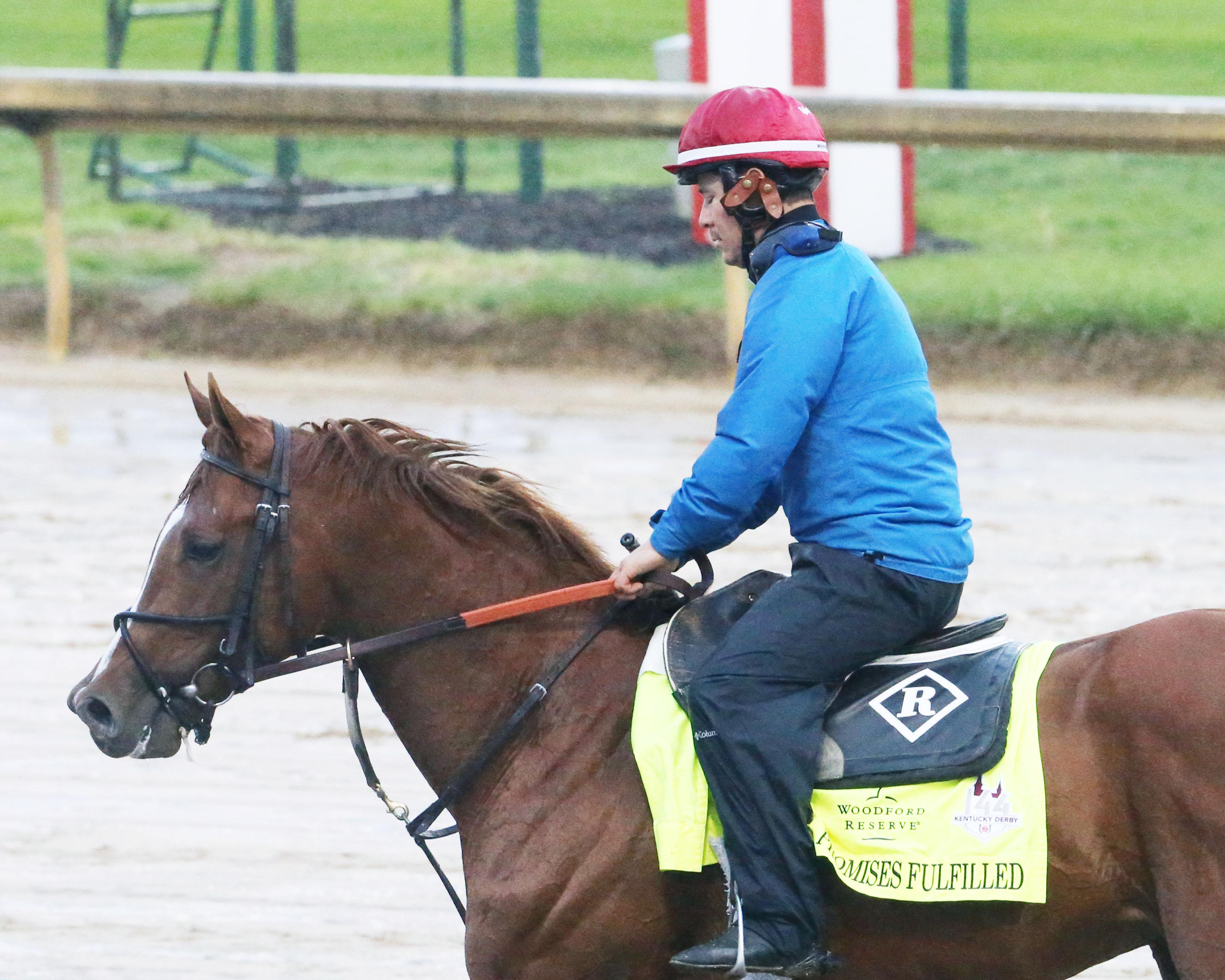 Promises Fulfilled Dale Romans Kentucky Derby Churchill Downs