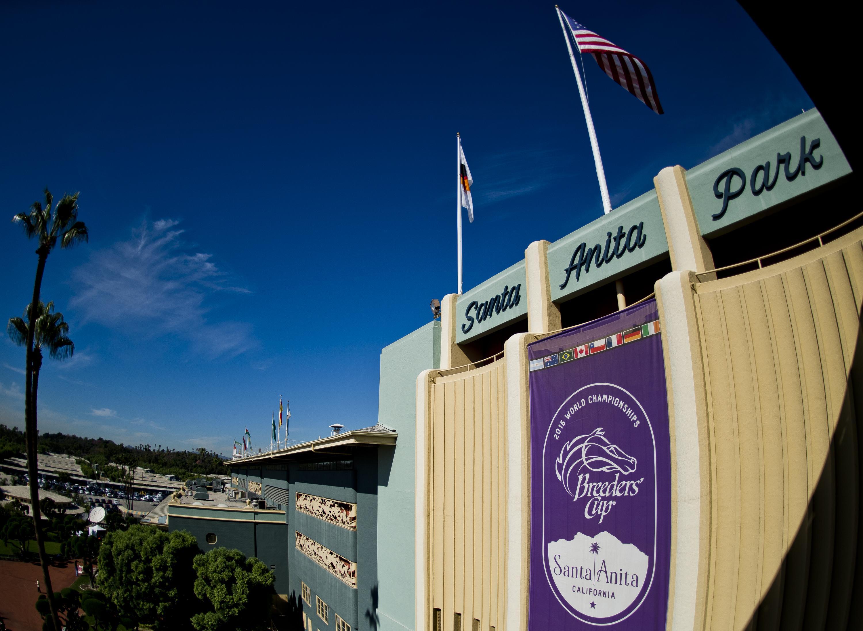 Santa Anita Park, host of this year's Breeders' Cup