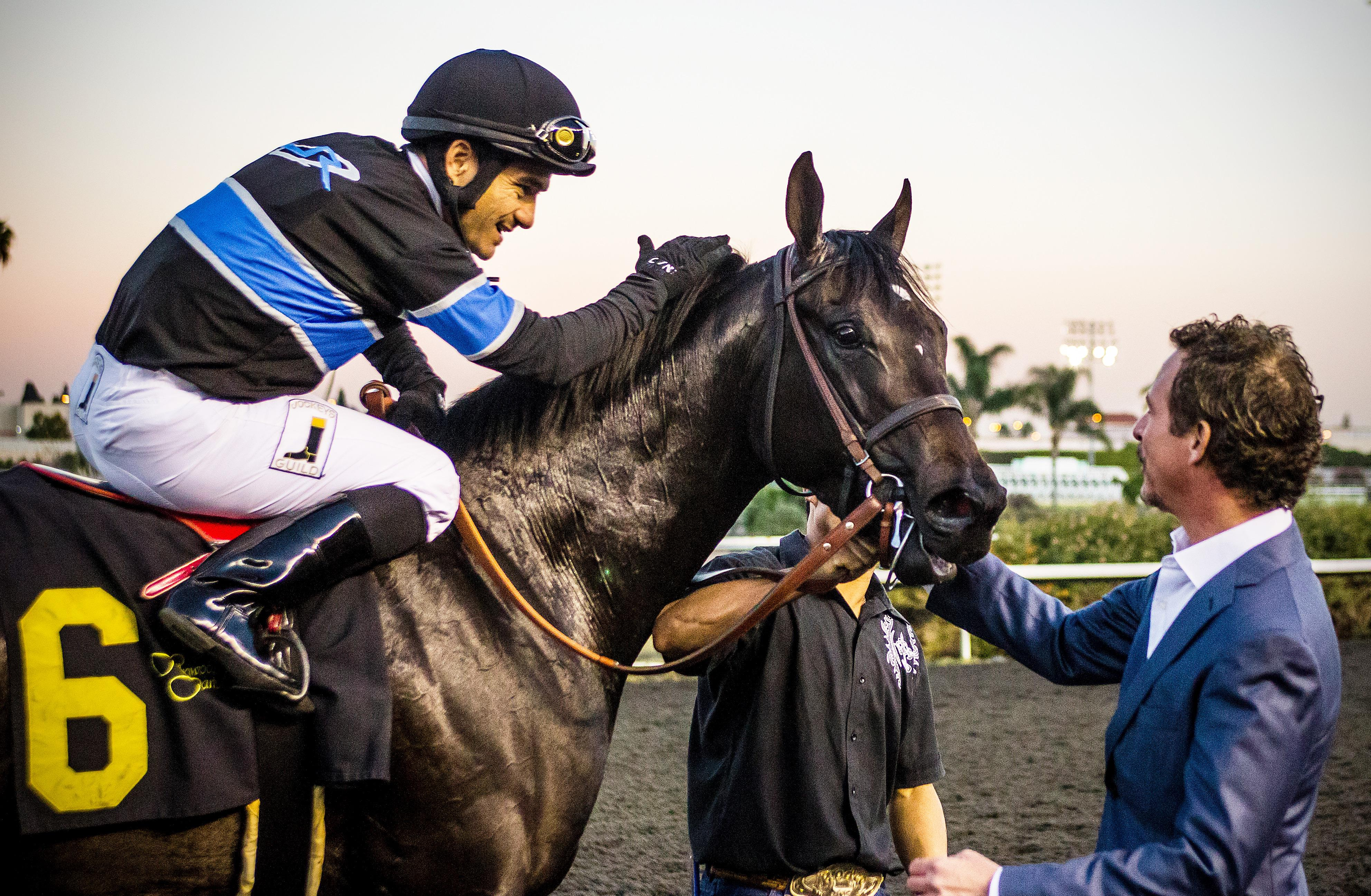Shared Belief and co-owner Jim Rome