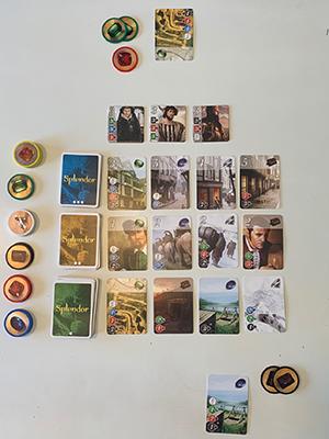 Splendor Board Game Marc Andre
