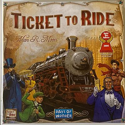 Ticket to Ride Alan R. Moon Days of Wonder