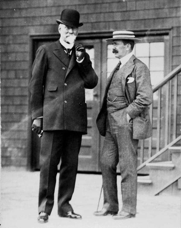 W.C. Whitney and August Belmont II