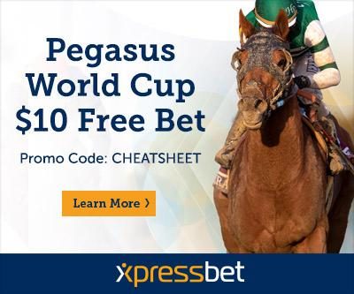 2019 Pegasus World Cup Cheat Sheet America S Best Racing