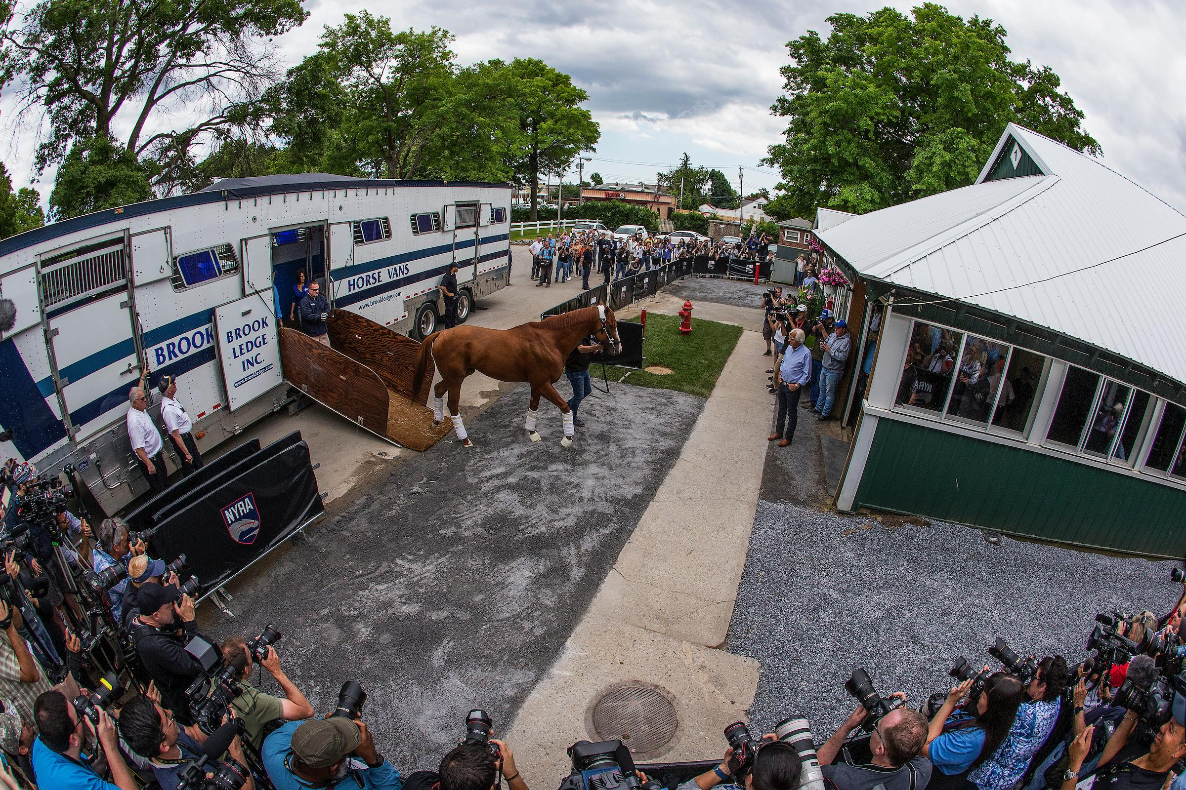 Randy Moss On The Belmont Stakes And Justify S Bid For A