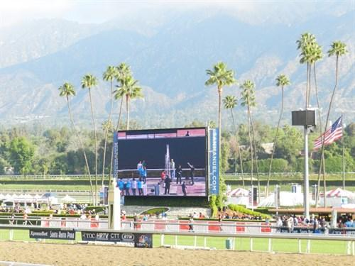 Santa Anita Derby Diaries Chrome Shines America S Best