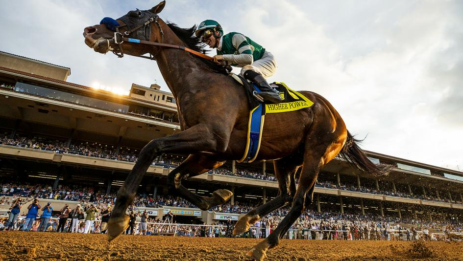 Higher Power Shines in Pacific Classic Runaway