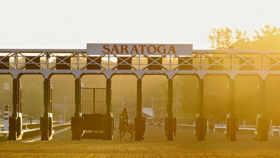 Saratoga Sunrise: Mornings at America's Oldest Sporting Venue