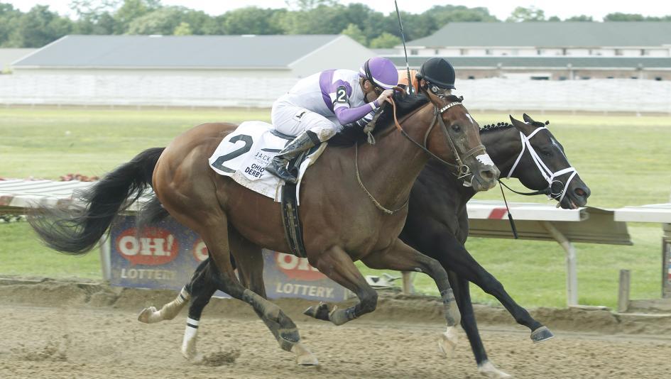 Irap Edges Girvin in Fantastic Ohio Derby Finish