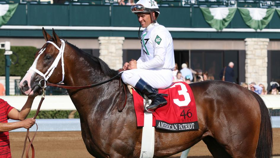Grade 1 winner American Patriot is one of the most successful patriotically-named racehorses.