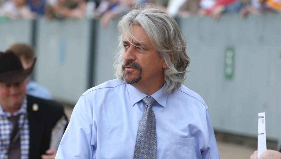 Steve Asmussen is a perennial leading trainer at Oaklawn Park in Arkansas.