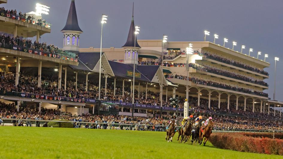 Churchill Downs hosts the Breeders' Cup again this fall.
