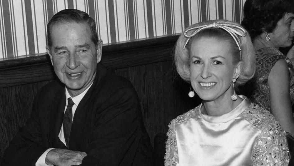 C.V. Whitney, pictured with wife Marylou, was a major contributor to Thoroughbred racing as an owner, breeder, and friend of the sport.