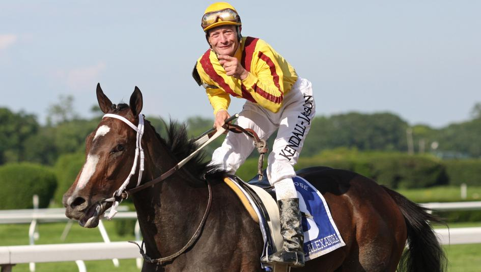 In addition to his three Kentucky Derby wins, Calvin Borel was the regular rider of legendary Rachel Alexandra.