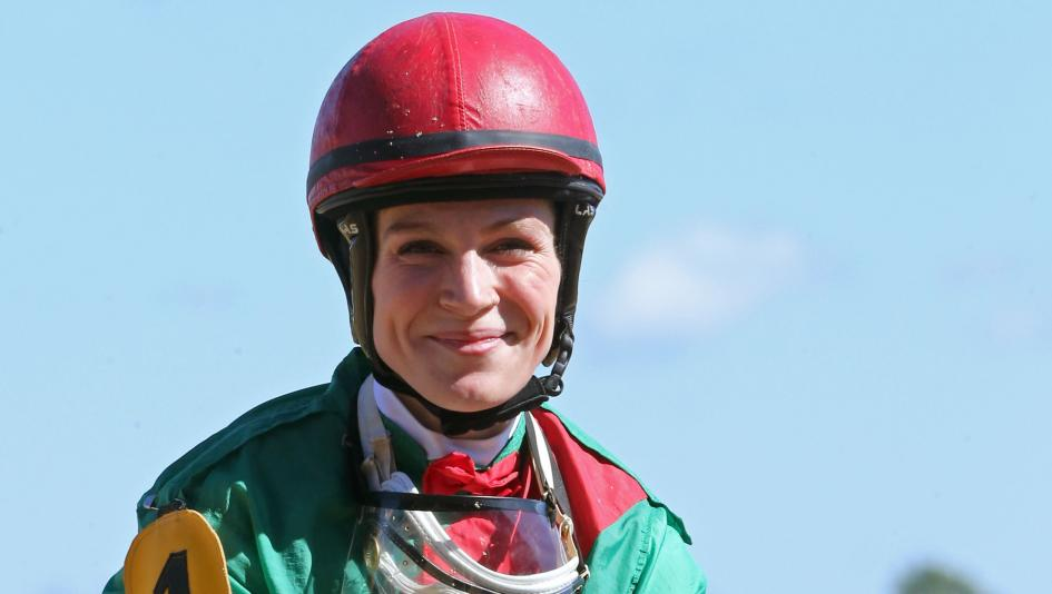 Jockey Chel-c Bailey rode her first winner recently at Oaklawn Park after previously competing as an MMA fighter.