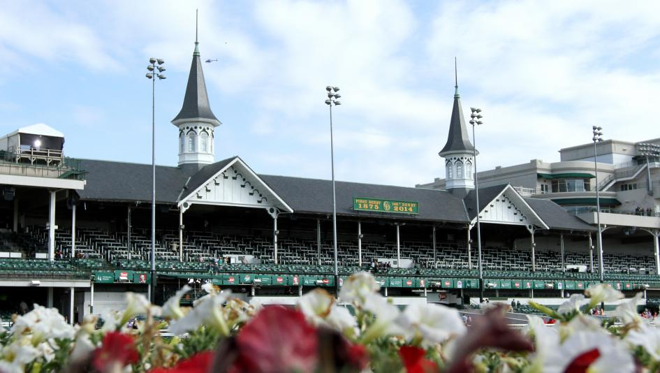 Churchill Downs is but one of the historic horse racing tracks in the U.S.