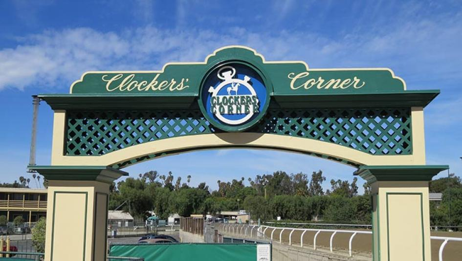 Cheerful And Contented At Clockers Corner America S