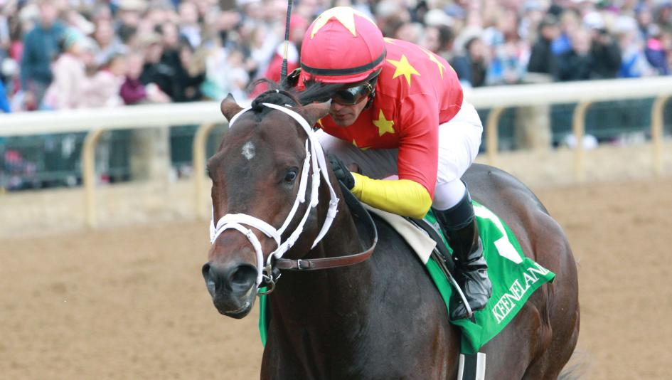 A winner of three of four career races, Copper Town makes his graded stakes debut in the Cigar Mile on Saturday.
