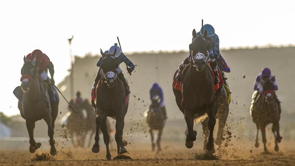 Racing at Del Mar.