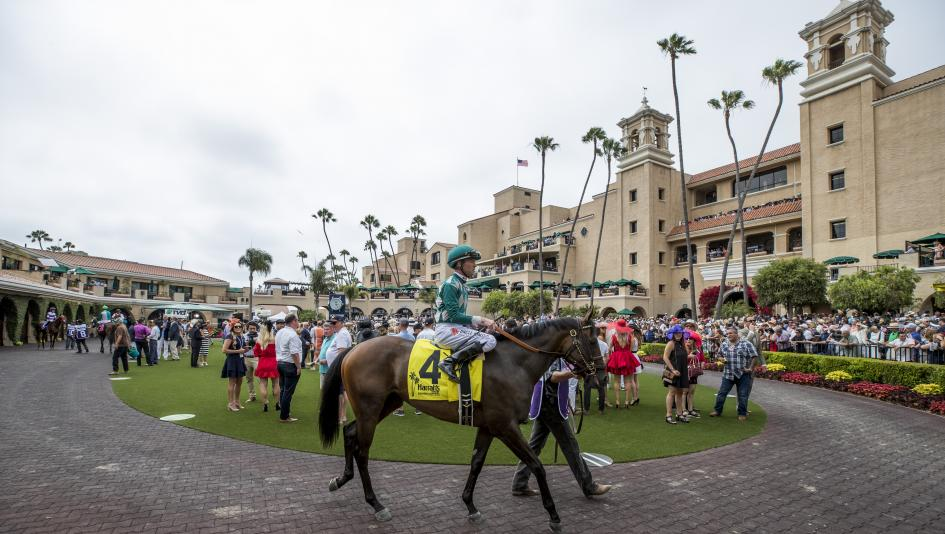 Del Mar, along with Saratoga, made for a wonderful weekend for racing fans.