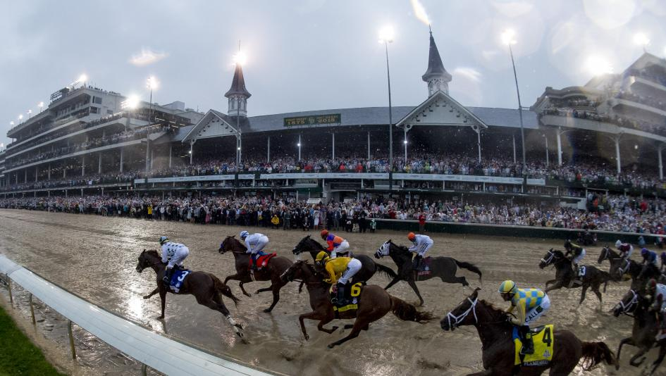 Like 2018, the 2019 Kentucky Derby could feature a wet track if the current forecast holds.