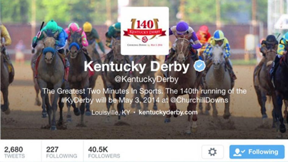 Top Kentucky Derby Twitter Accounts to Follow   America's
