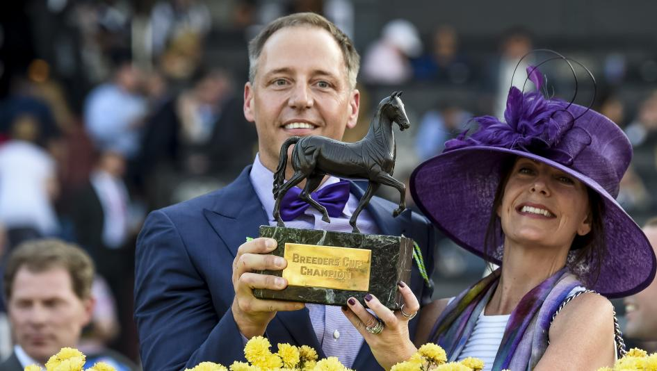 The Winner S Circle Features Breeders Cup Winning Owner