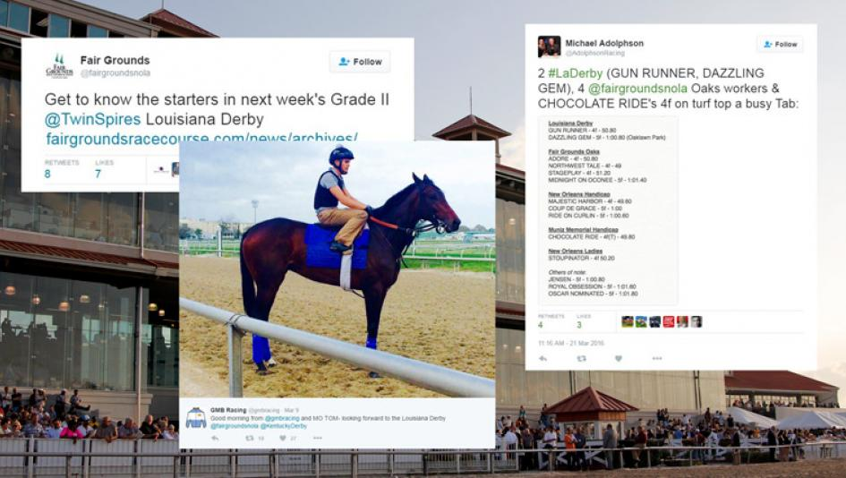 Twitter Accounts to Follow for the Louisiana Derby
